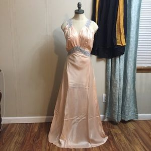 Vintage 1930s Rayon Nightgown Negligee